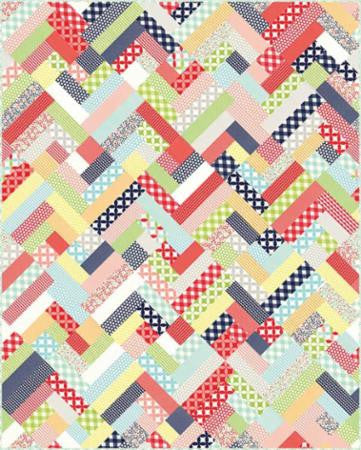 Another Lazy Sunday Quilt Pattern by May Chappell
