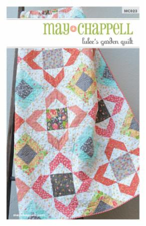 Lulee's Garden Quilt by May Chappell