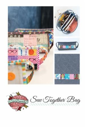Sew Together Bag Pattern by Tucker,Michelle of Sew Demented