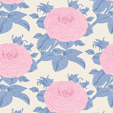 """SunKiss""-Grandma Rose Blue by Tone Finnanger for Tilda"