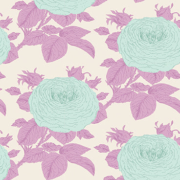 """SunKiss""-Grandma Rose Lilac by Tone Finnanger for Tilda"
