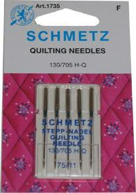 Schmetz Quilting Machine Needle - Size 75/11 Euro-Notions