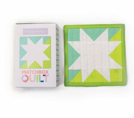 Matchbox Quilt Kit No1 Aqua