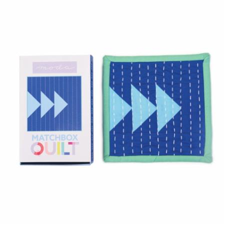 Matchbox Quilt Kit No3 Blue