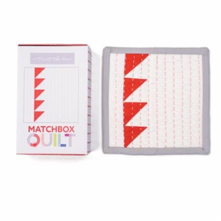 Matchbox Quilt Kit No6 Red