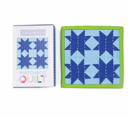 Matchbox Quilt Kit No7 Light Blue