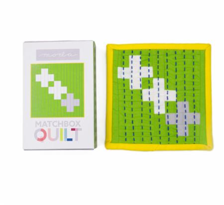 Matchbox Quilt Kit No8 Gray