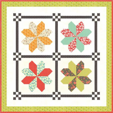 Mini County Fair Quilt Pattern by Fig Tree & Company Fat 1/8 Friendly