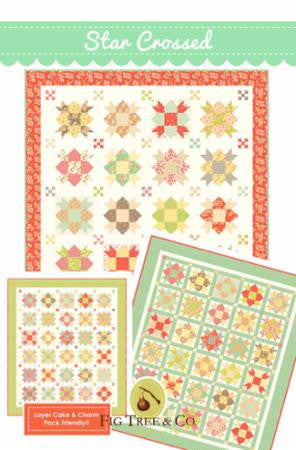 Star Crossed Quilt Pattern by Fig Tree & Co.