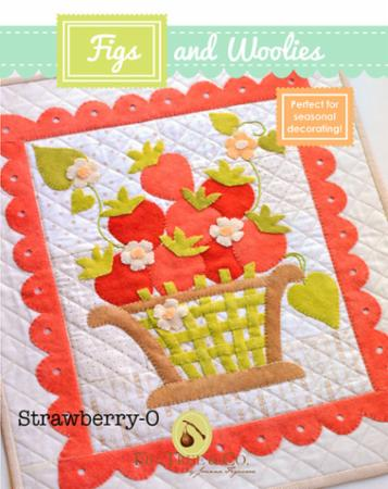 """Figs & Woolies"" Strawberry-O Pattern by Fig Tree & Company"