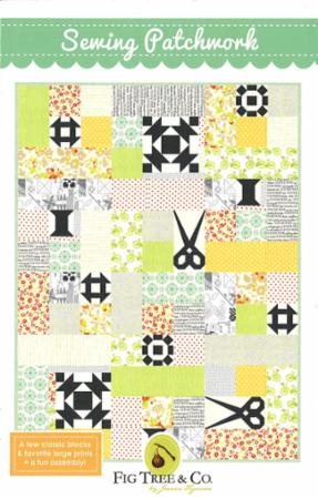 Sewing Patchwork Quilt Pattern by Fig Tree & Co.