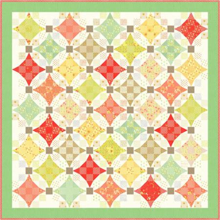 Nine Patch Waltz Quilt Pattern by Fig Tree & Co.