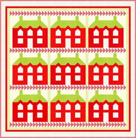 Christmas Manor Quilt Pattern by Fig Tree & Co.