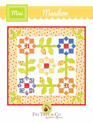 Mini Meadow Pattern by Fig Tree & Company