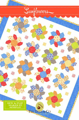 Sunflowers Pattern by Fig Tree & Company