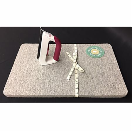 "Wool Felt Iron Mat 13.5"" x 13.5"""