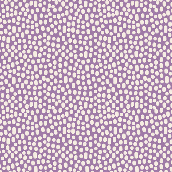 """Lazy Days""-Trickles Lilac by Tone Finnanger for Tilda"