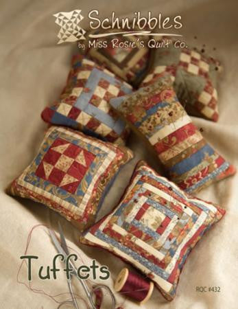 Tuffets Pincushions Pattern by Miss Rosie's Quilt Co.