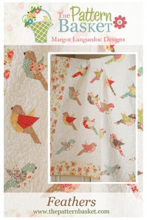 Feathers Pattern by Margot Langeudoc