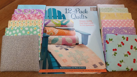 My 12 Pack Quilts Fat Quarter Bundle