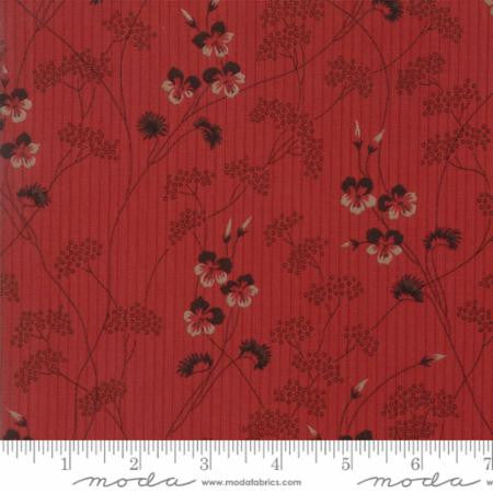 """Wild Strawberry""Red-Hopes Journey by Betsy Chutchian for Moda"