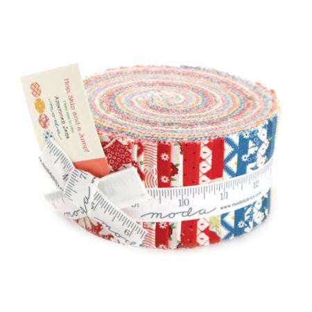 Hop Skip and a Jump Jelly Roll by American Jane for Moda