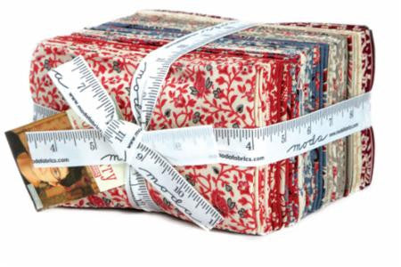 "Pondicherry French General Fat Eighth 9"" x 22"" Bundle"