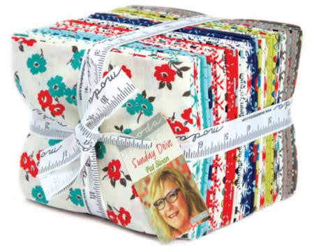 Sunday Drive Fat Quarter Bundle by Pat Sloan for Moda