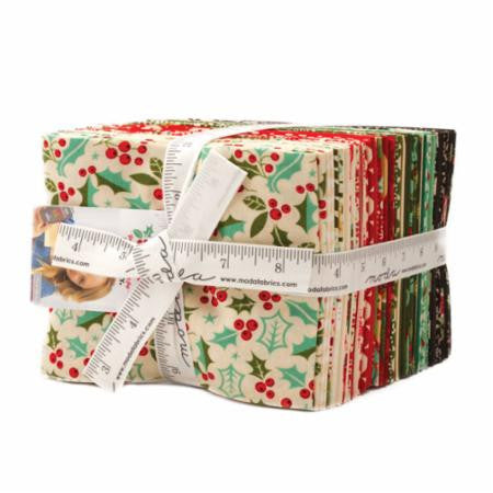 Berry Merry Fat Quarter Bundle by Basic Grey for Moda