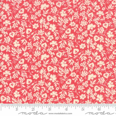 """Merry Go Round""- Mono Floral Pink by American Jane for Moda"