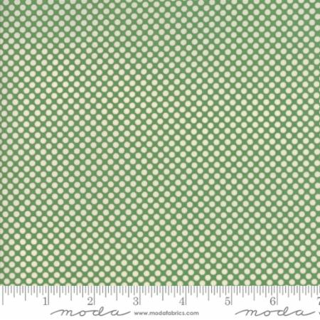 """Merry Go Round""- Polka Dots Light Green by American Jane for Moda"