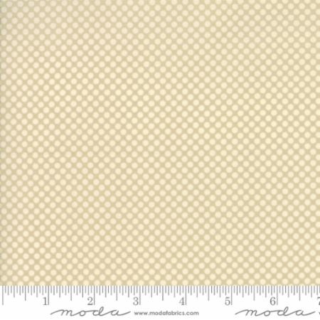 """Merry Go Round""- Polka Dots Grey Putty by American Jane for Moda"