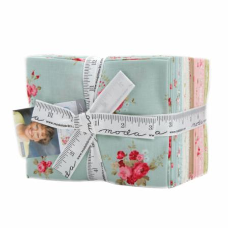 """Caroline"" 31 piece Fat Quarter Bundle by Brenda Riddle for Moda"