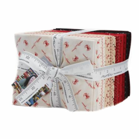 """Needle & Thread Gatherings"" 35 piece Fat Quarter Bundle by Primitive Gatherings for Moda"