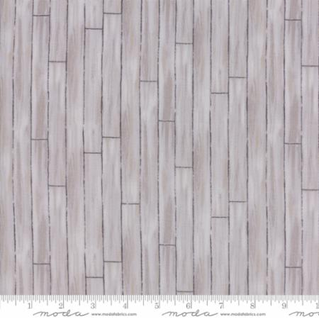 """Homegrown""-Barnyard Shiplap Grey by Deb Strain for Moda"