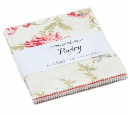 Poetry Charm Pack by 3 Sisters for Moda