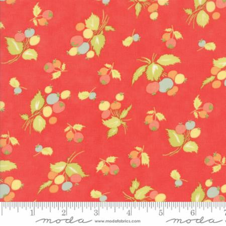 """Candy Apple Red""-Coney Island by Fig Tree Quilts for Moda"