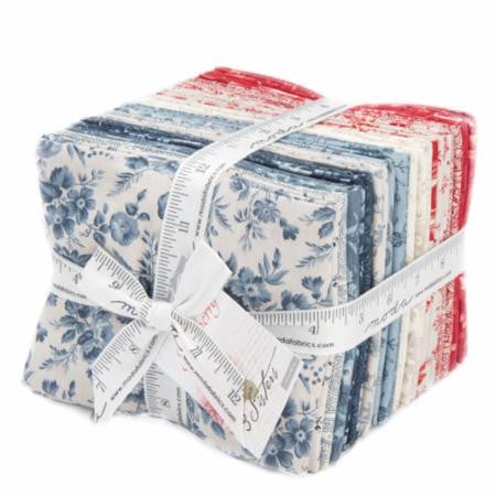 Snowberry Prints Fat Quarter Bundle by 3 Sisters for Moda