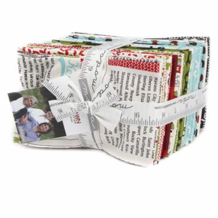 Hometown Christmas Fat Eighth Bundle by Sweetwater for Moda