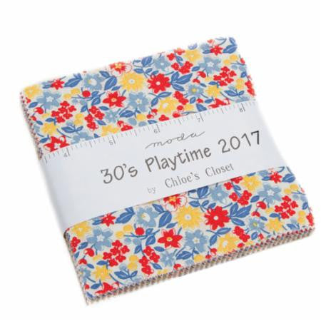 30's Playtime 2017 Chloe's Closet Charm Pack 42Pc for Moda