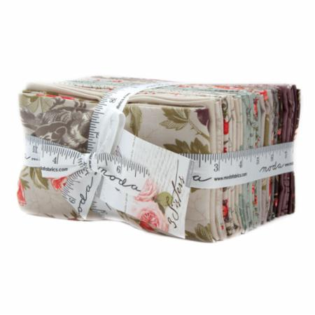 "Quill 9"" x 22"" Fat Eighth Bundle by 3 Sisters for Moda"