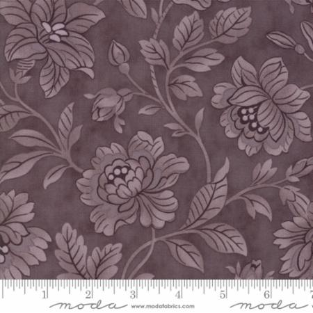 """Quill""-Floral Damask Purple Mauve by 3 Sisters for Moda"