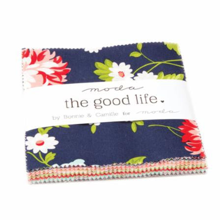 """The Good Life"" 42 piece Asst Charm Pack by Bonnie & Camille for Moda"