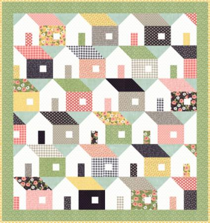 """Farmer's Daughter"" Home Again Quilt Kit by Lella Boutique for Moda"