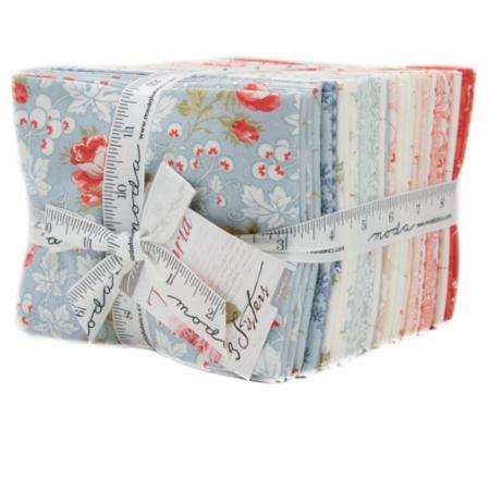 Victoria 34 pc Fat Quarter Bundle by 3 Sisters for Moda