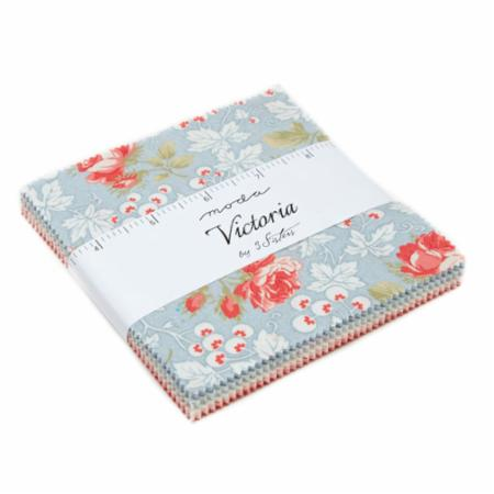 Victoria 42 Piece Assorted Charm Pack by 3 Sisters for Moda