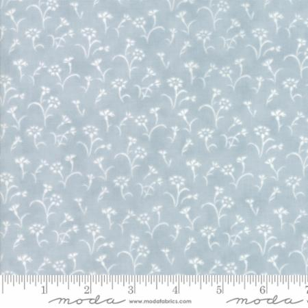 """Victoria""-Floral Alice Light Blue by 3 Sisters for Moda"