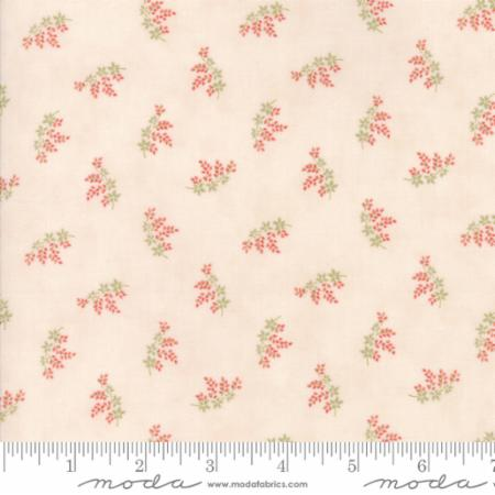 """Victoria""-Floral Charlotte Pink by 3 Sisters for Moda"