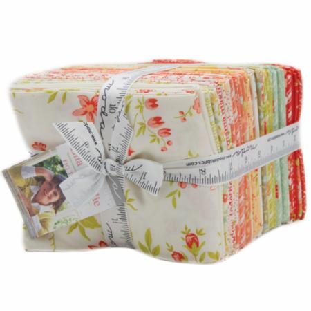 Ella & Ollie Fat Quarter Bundle 40Pc by Fig Tree Quilts for Moda