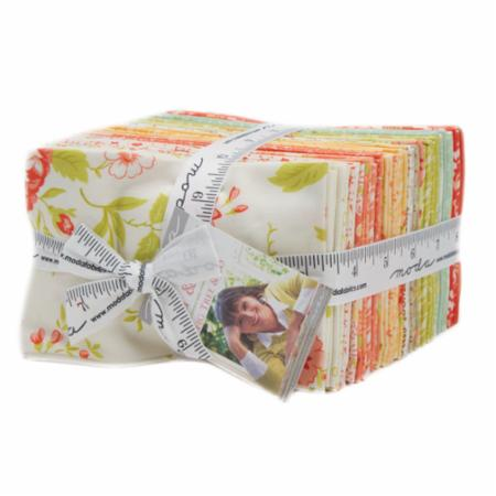 Ella & Ollie Fat Eighth Bundle 40Pc by Fig Tree Quilts  for Moda
